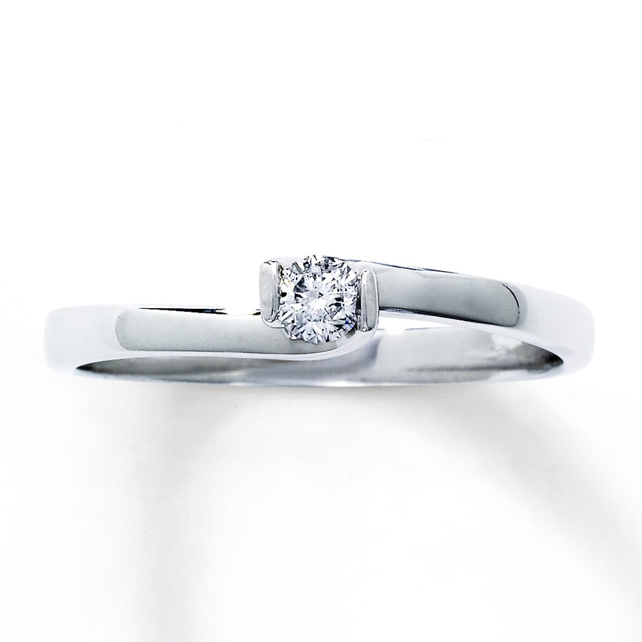 of carat promise in diamonds ring white diamond tw gold with