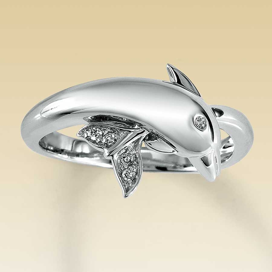 wedding rings dolphin wedding rings