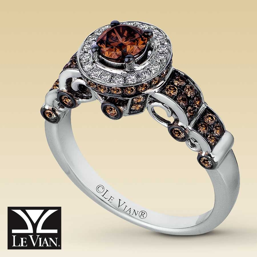 Kay  Le Vian® 14K White Gold 1 1/5 Carat t.w. Diamond Ring