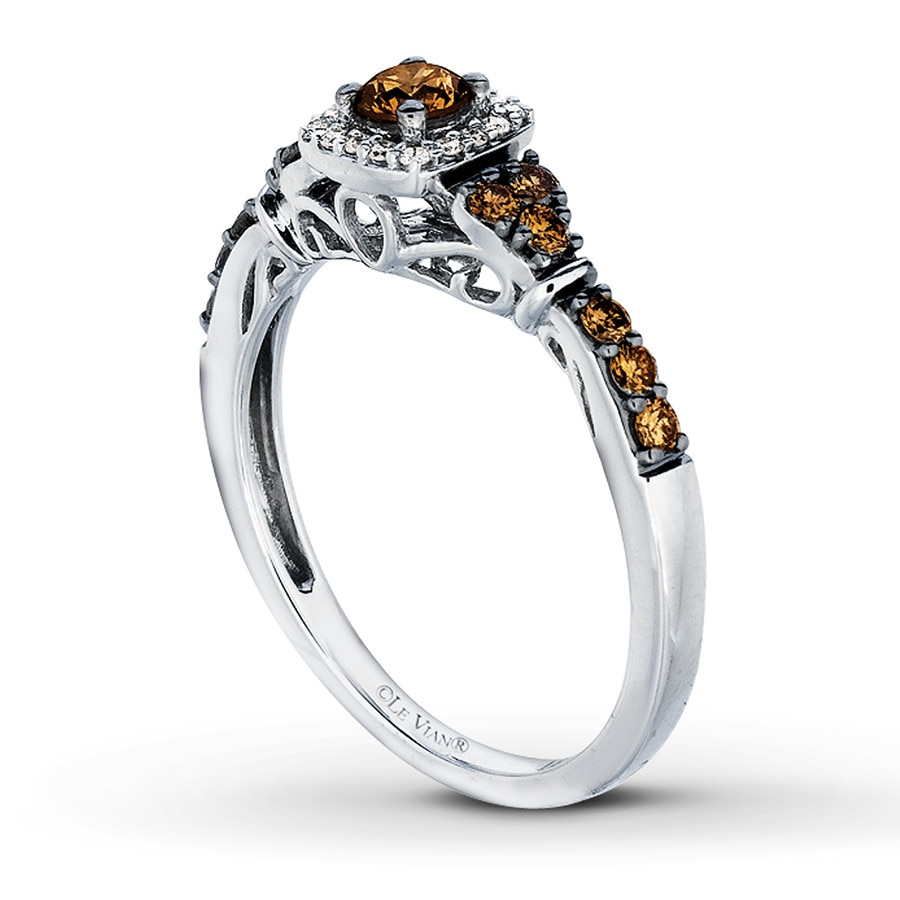 chocolate ring rings vian tw gold of le levian ct diamonds diamond wedding kay engagement awesome