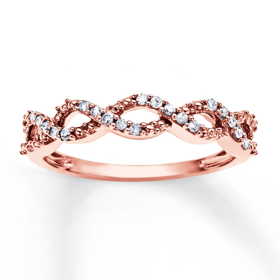 Rose Gold Ring Kay Jewelers Rose Gold Ring