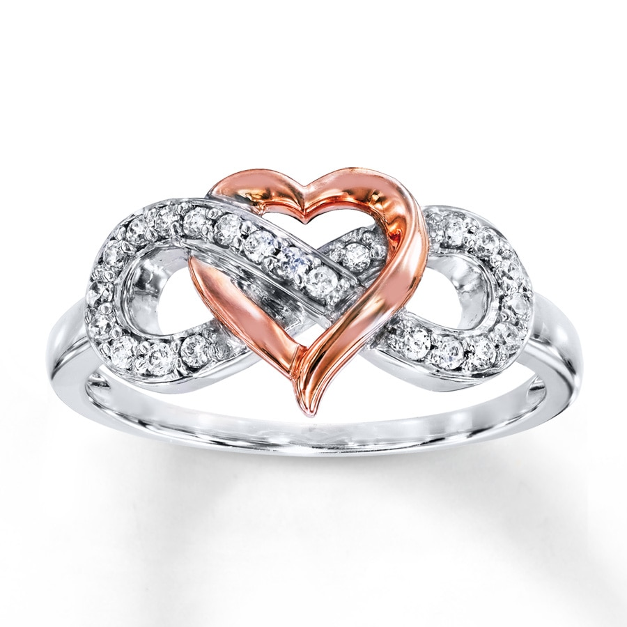 band s ring rings with symbol rin enaement infinity bands diamond engagement wedding