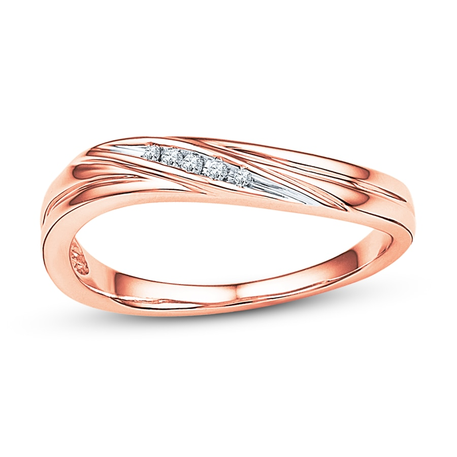 Kay Diamond Ring 10K Rose Gold