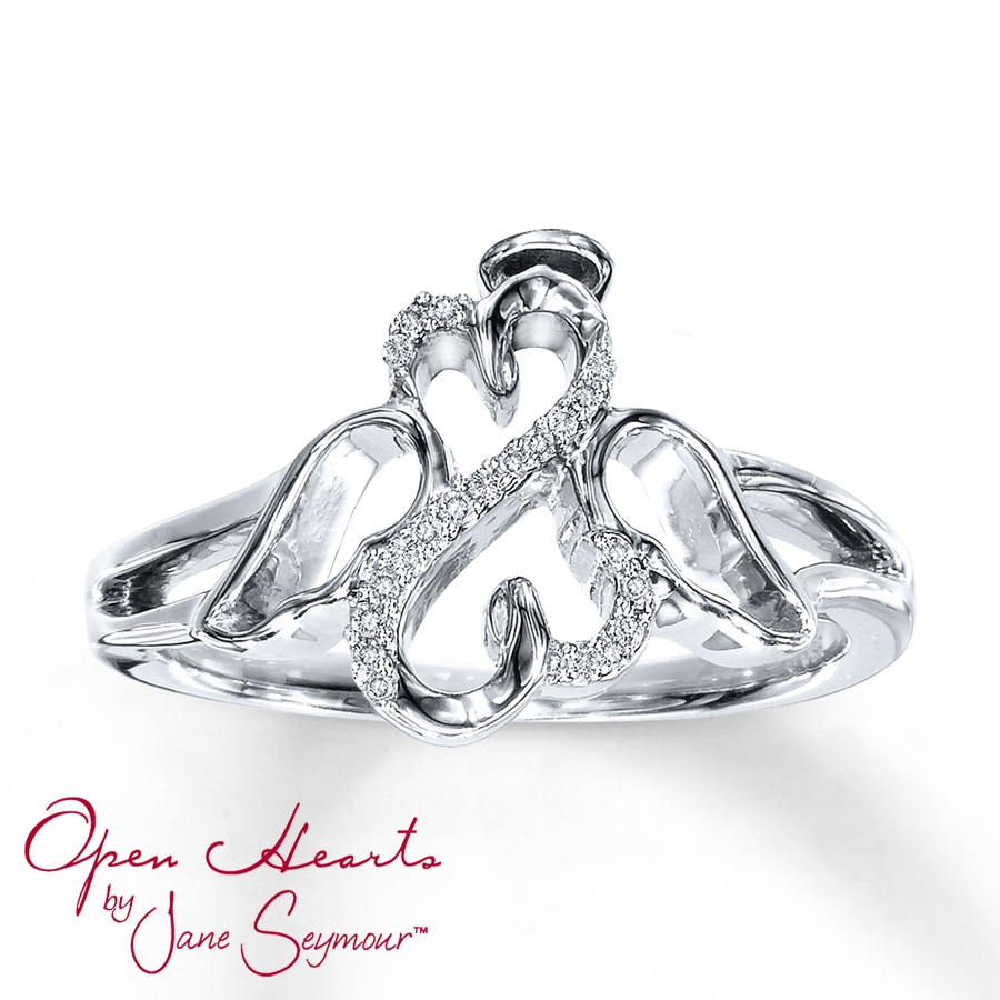 perfection ring to products couple rings angel romantic wing