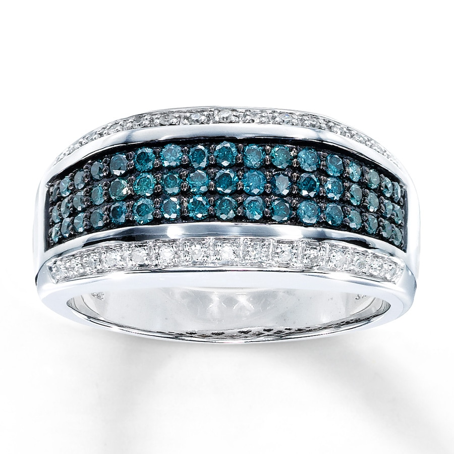 blue halo wedding engagementdetails in sapphire diamond and laced accents white gold rings ring cfm engagement