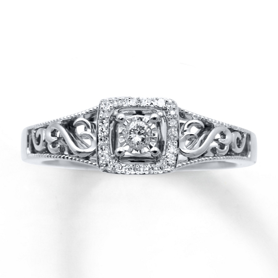 Engagement Rings Wedding Rings Diamonds Charms Jewelry From