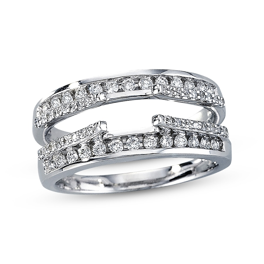 wedding inside ring around wrap rings sets gallery bridal band engagement enhancer of viewing attachment photo