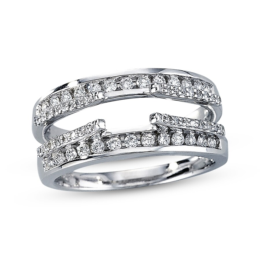 me enhancer wedding guards your show of stacking rings awesome enhancers ring wraps