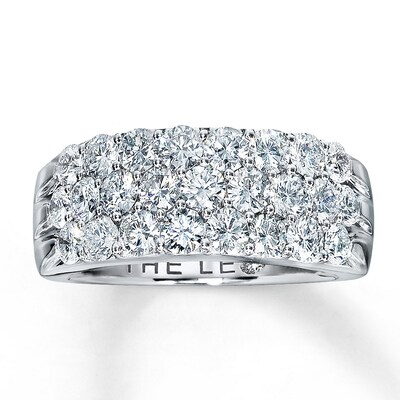 Leo Diamonds 2 ct tw Anniversary Band 14K White Gold Ring The Leo Diamond
