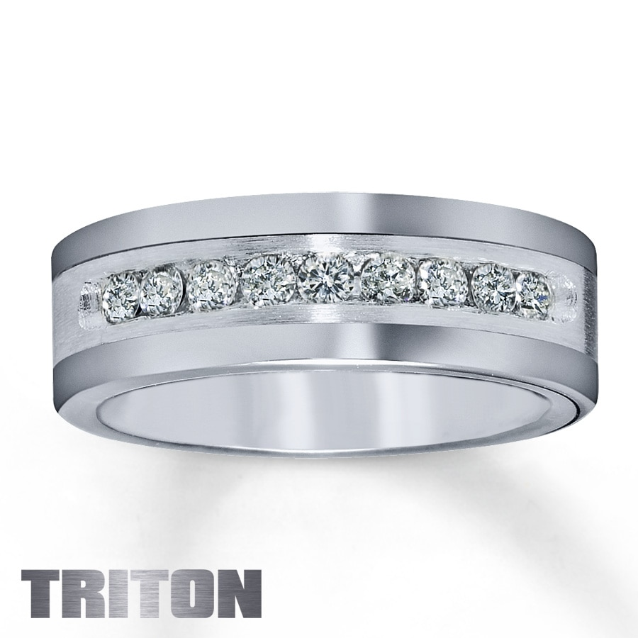 him titanium band wedding triton zoom zm mv jar hover en jared jaredstore to rings for