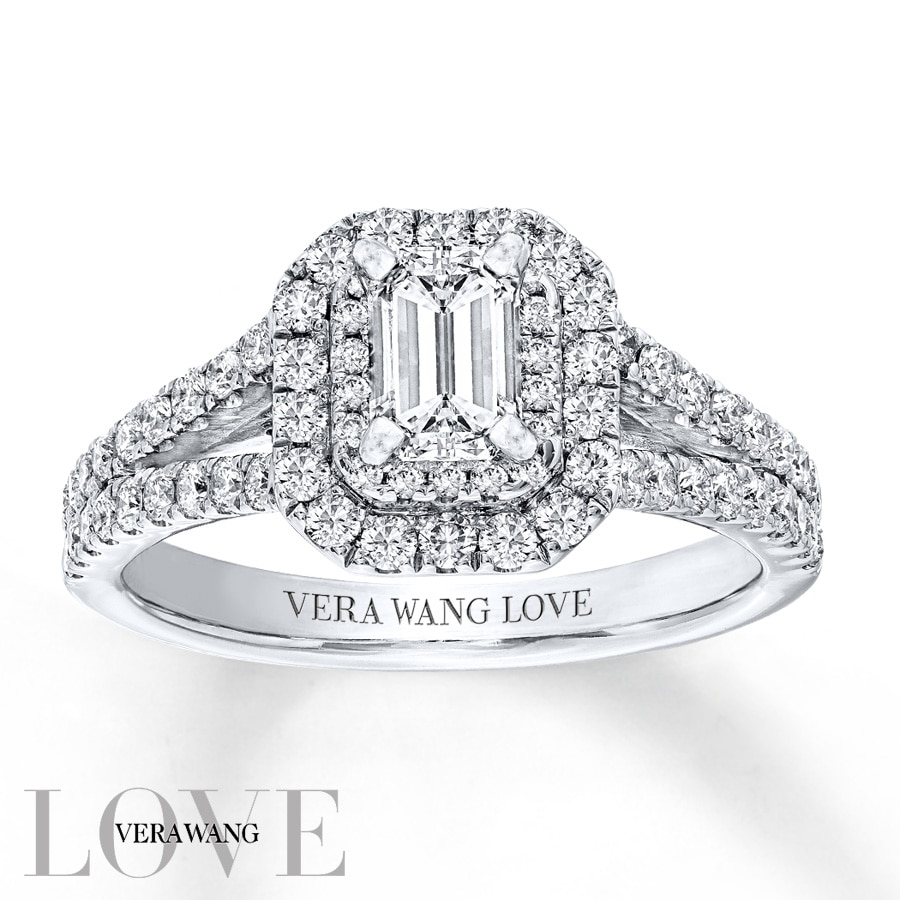 Kay Vera Wang LOVE 1 13 Carats tw Diamonds 14K White Gold Ring