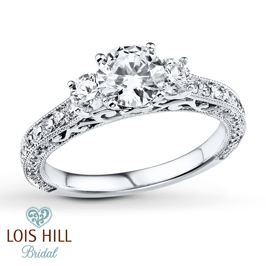 Kay Jewelers Lois Hill Silver Rings