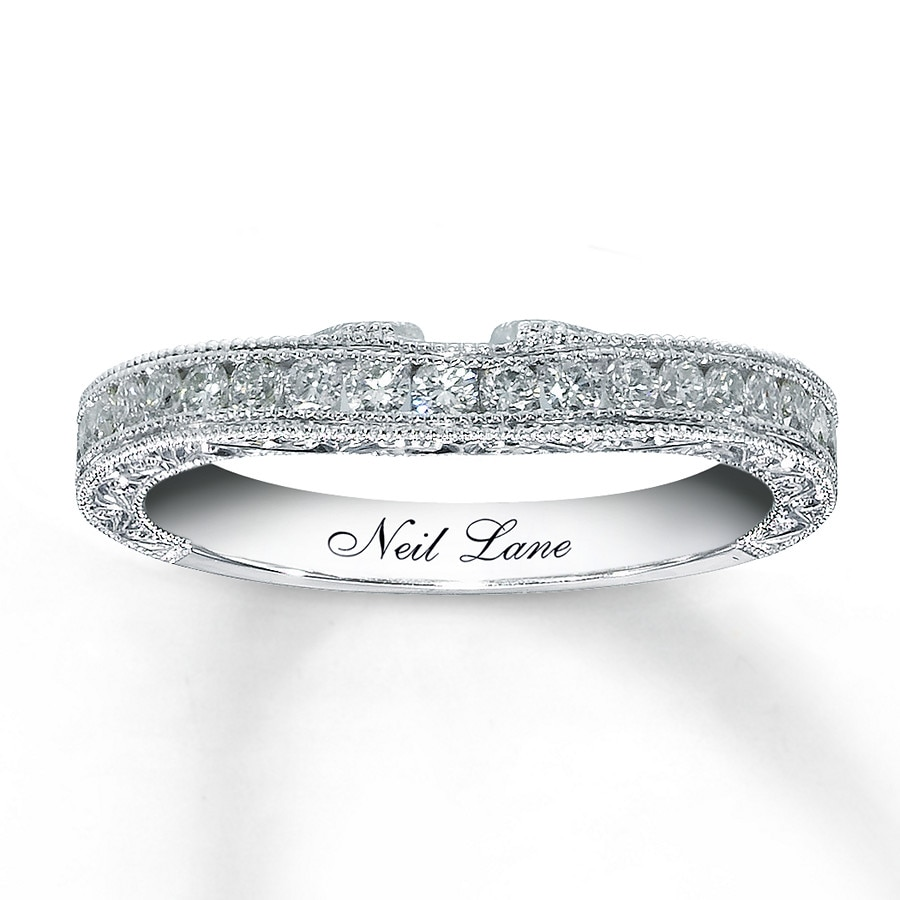 Neil lane wedding band 12 carat tw 14k white gold 9001320899 kay neil lane wedding band 12 carat tw 14k white gold junglespirit Choice Image