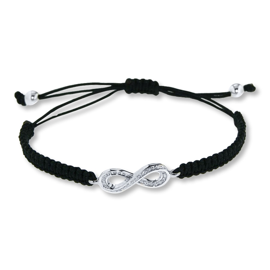 sunday dilamarra by or bracelet you products black cord white i friendship love amy girl