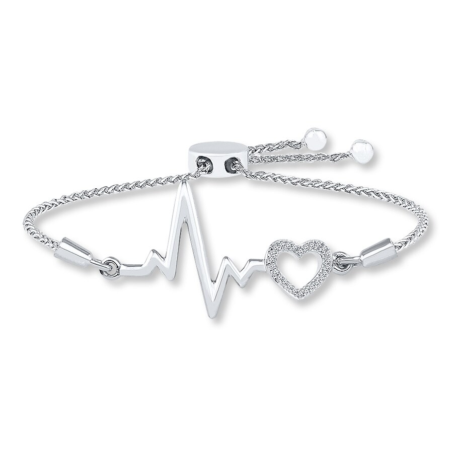 silver zm mv ct cut zoom hover sterling en heart to jewelers diamond kaystore bracelet kay tw round