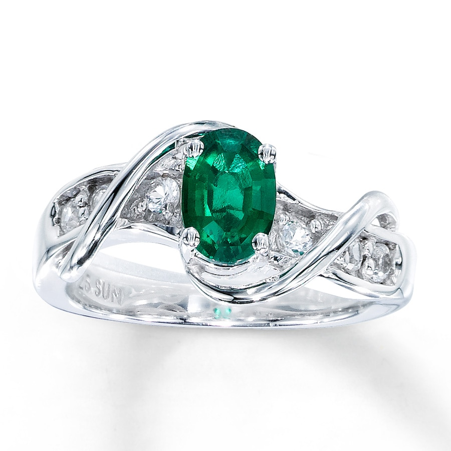 diamond jewellery engagement zambian ring boutique emerald