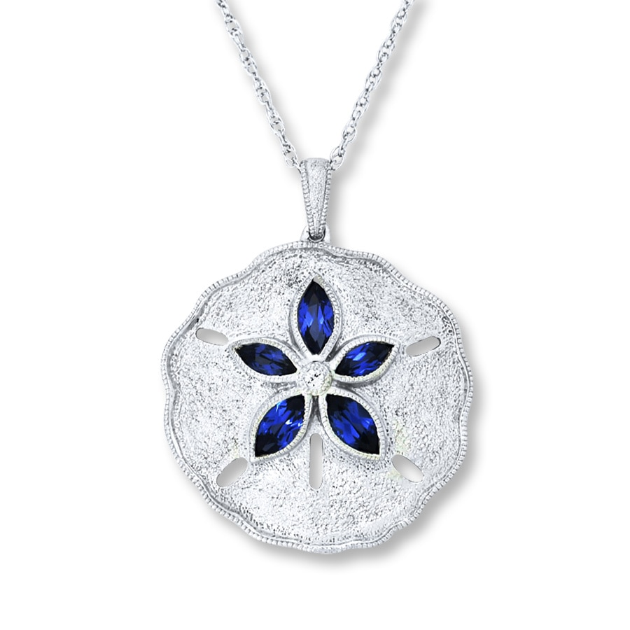 hiebert products drop sand donna dollar design necklace