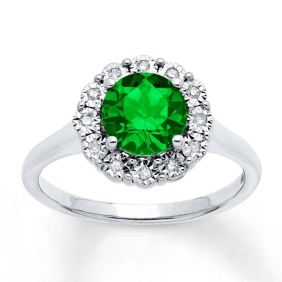Labcreated Emerald Ring 120 Ct Tw Diamonds Sterling. Opal Emerald. Peridot Chysolite Emerald. Wife Roger Federer Emerald. Gems Emerald