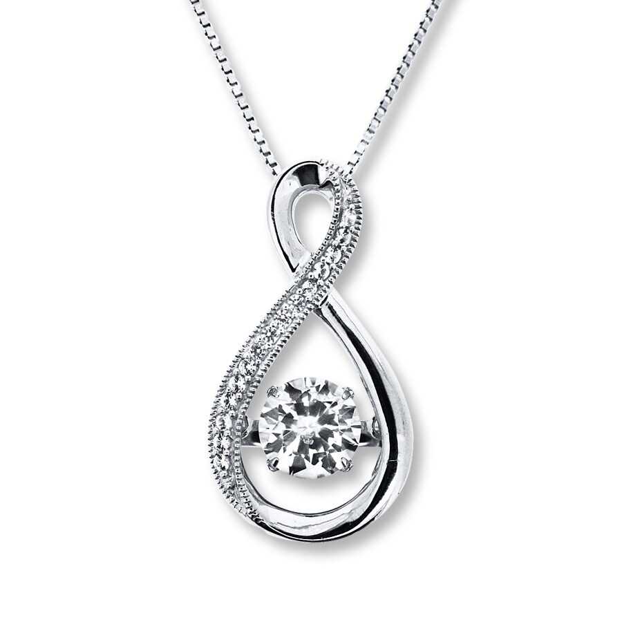 enchanted sterling stars products the forest silver necklace