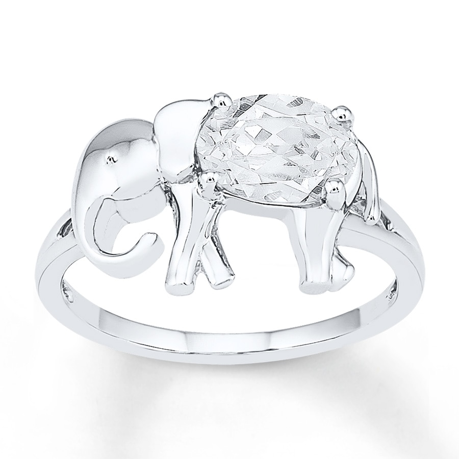 itm sterling silver ring engagement size elephant ebay rings