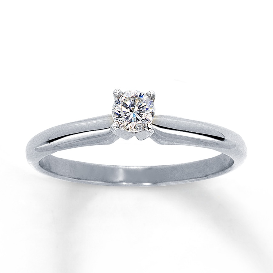 carat diamond ring created synthetic