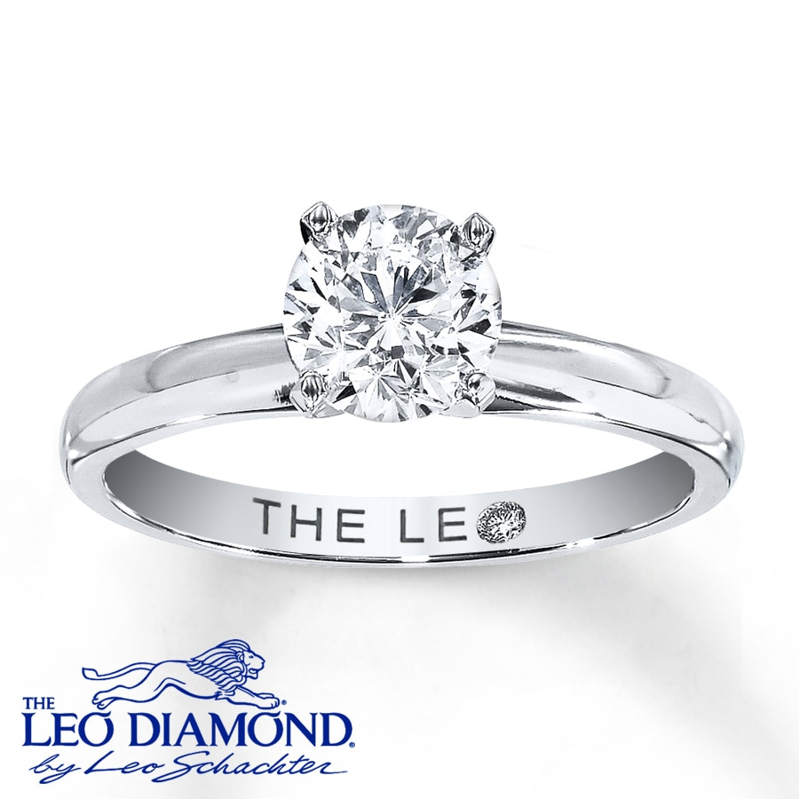 ring engage platinum shop certified leo ernest by round solitaire diamond rings uk jones tiffany engagement manchester page igi