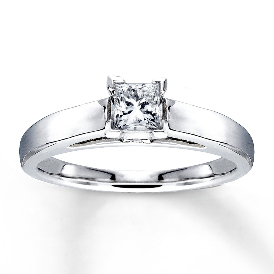 Carat Princess Cut Diamond Ring