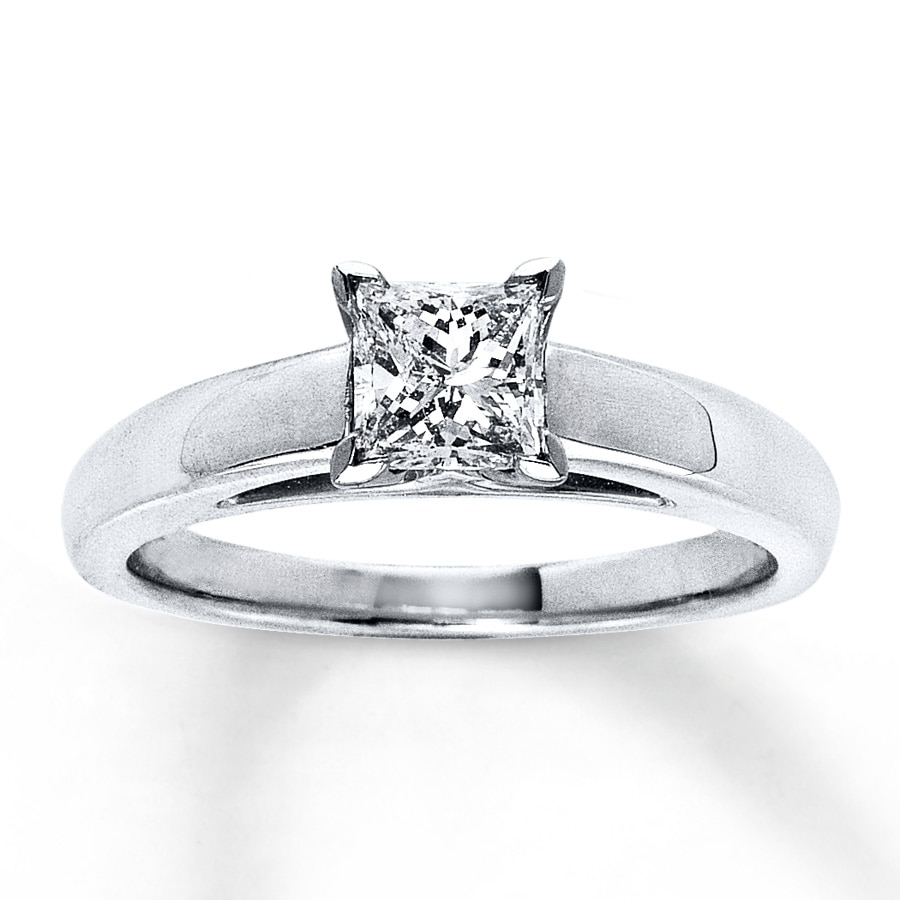 engagement or diamond ring product rings carat tension steel moissanite stainless with hammered