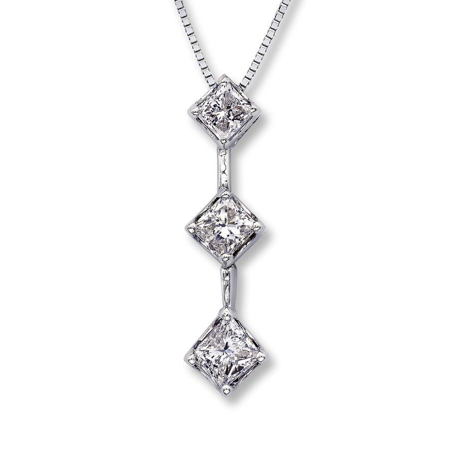 rg gold fascinating princess halo diamonds duet pendant with jewelry rose white nl double cut diamond in fancy