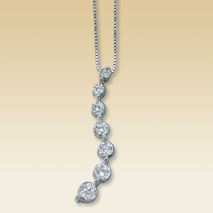 diamond jewelers kay with diamonds necklace rhythm of in sterling heart silver gold unique