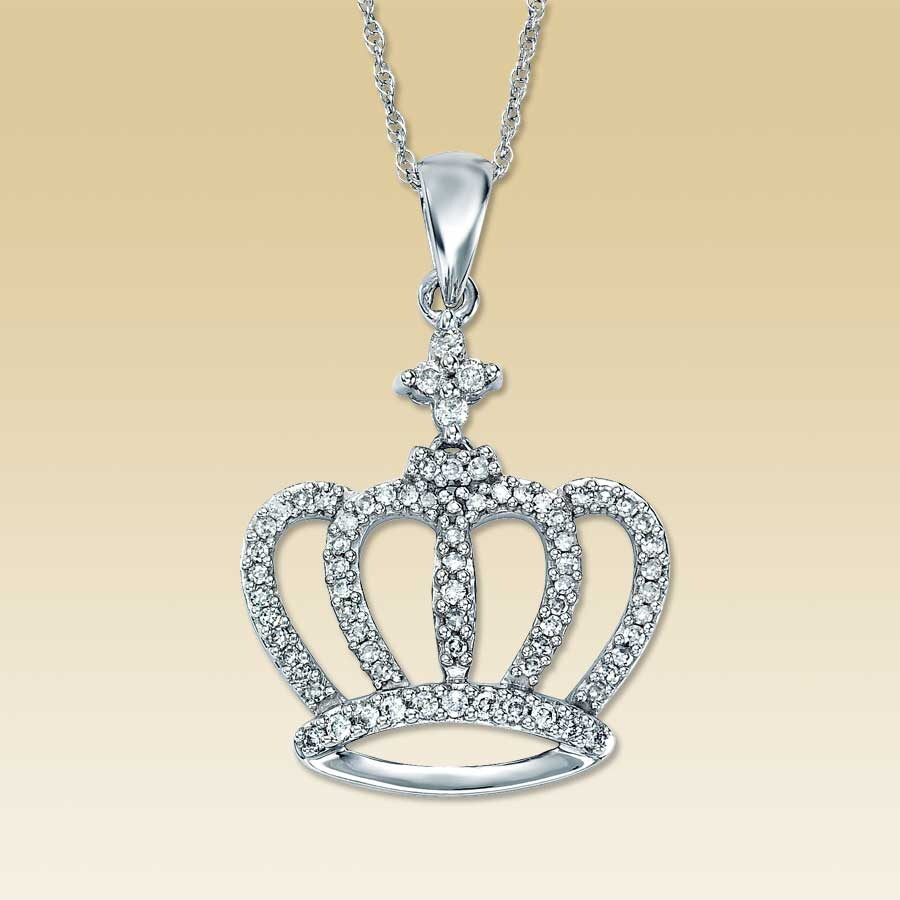 necklace s silver only necklac crown modli sterling one my king