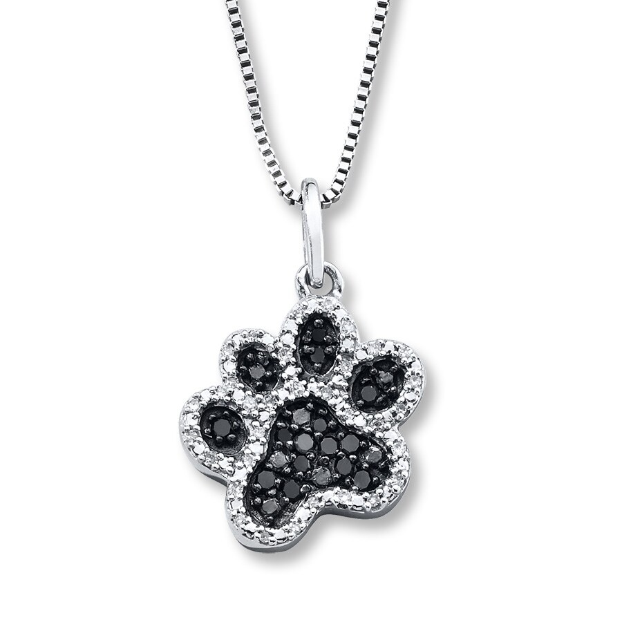 pendant heart paw shop cats print necklace bengal jewelry necklaces