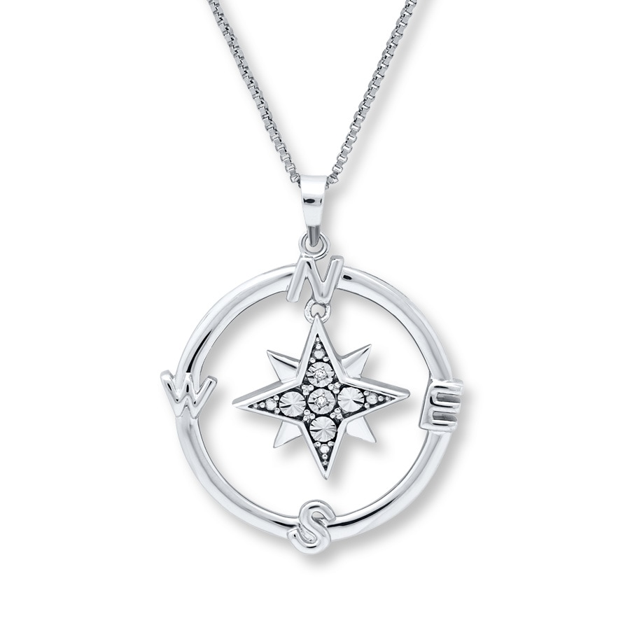 wid op necklace cutout product prd sharpen star hei compass jsp conrad lauren lc