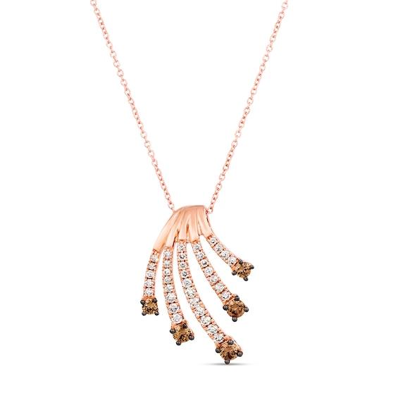 Le Vian Nude Diamond Ring 3/4 ct tw 14K Strawberry Gold