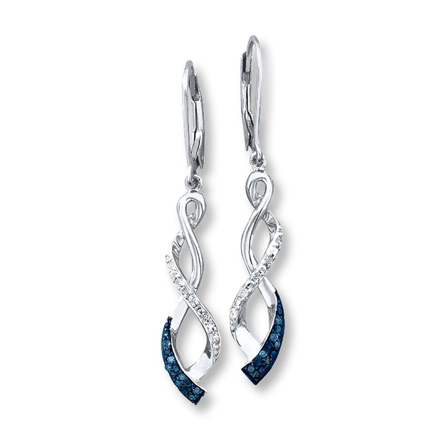 Kay Blue Diamond Earrings
