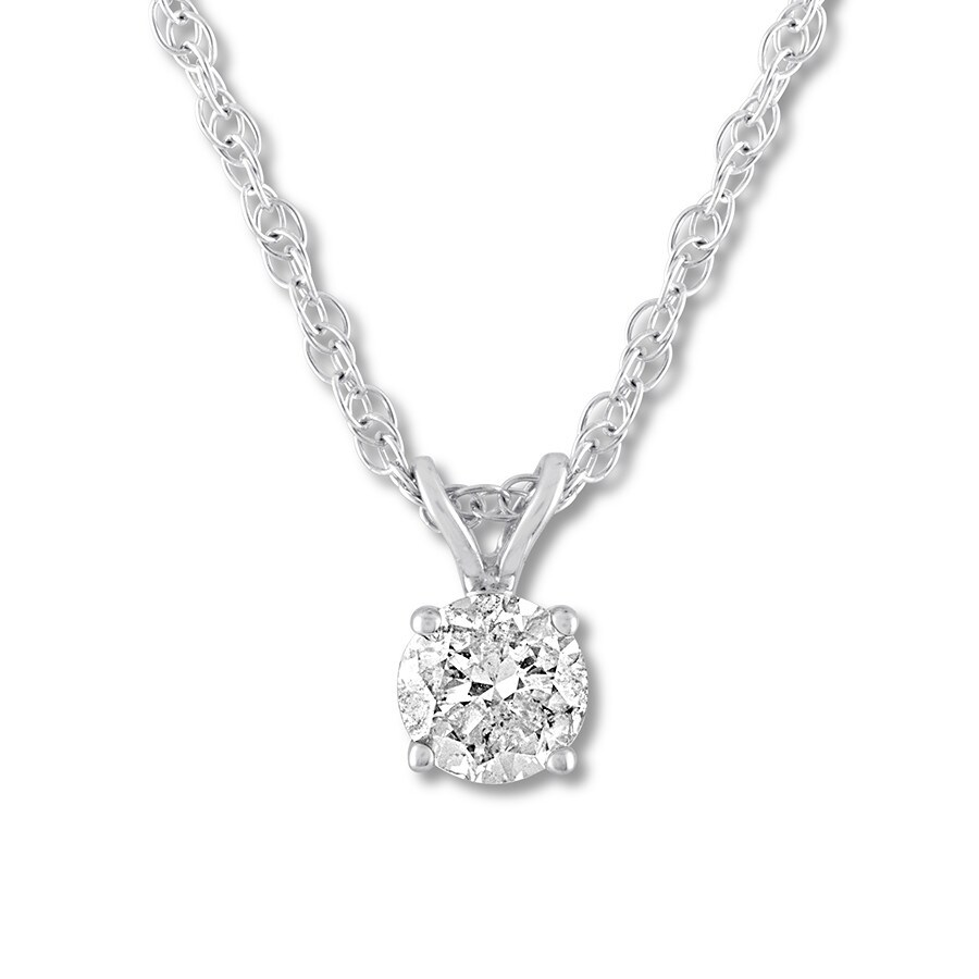 natalia jewelry spectrum gold diamond necklace product in silver lyst metallic carat white