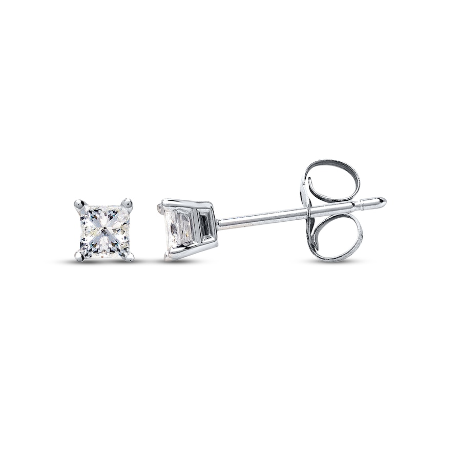 netaya diamond round white carat prong earrings products stud gold