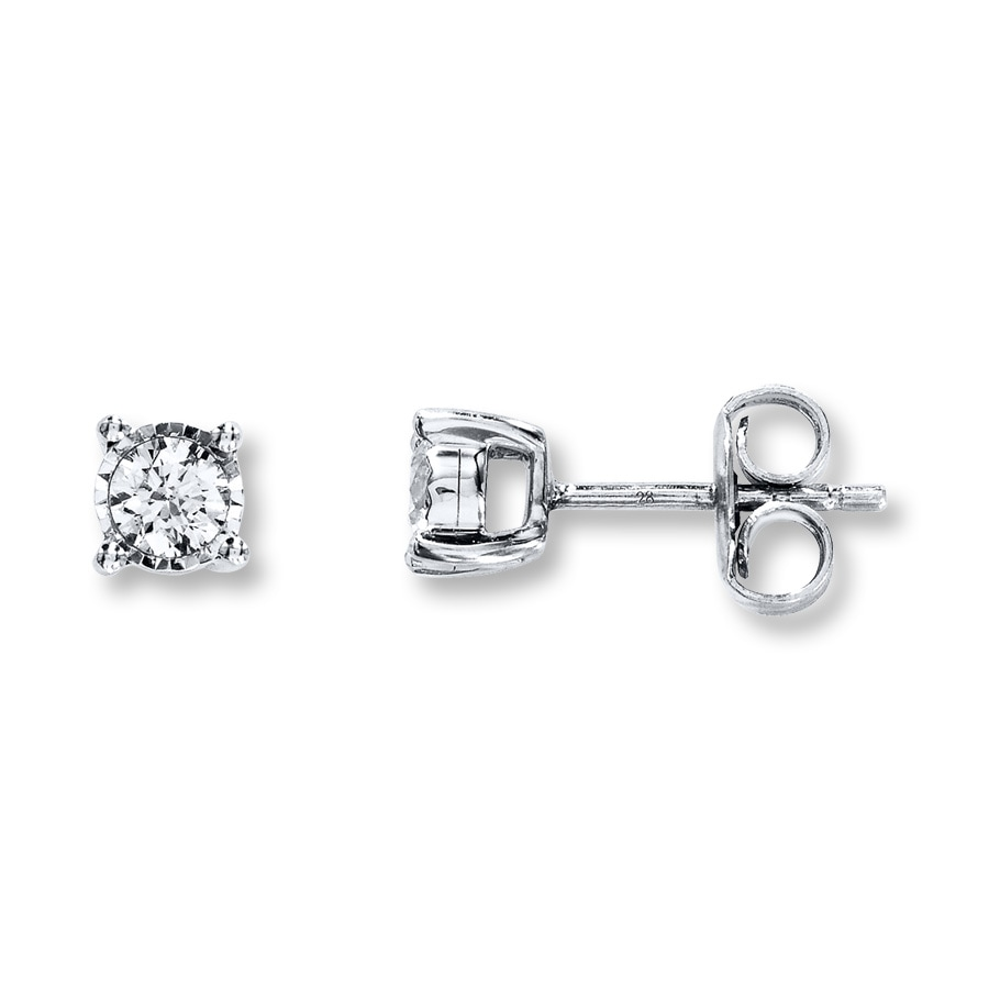 f9fae3c21b Radiant Reflections 1/4 ct tw Diamonds Sterling Silver Earrings. Tap to  expand