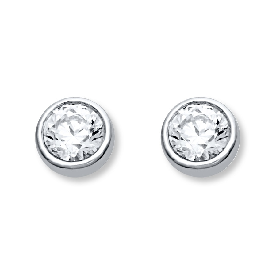 halo ct tw white main earrings stud earring detailmain in bezel gold phab lrg diamond set