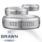 Men's Wedding Band God/Strength/Honor BioBlu27™, 9mm