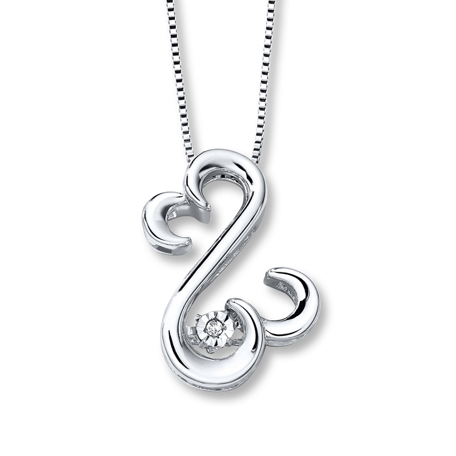 with product flower cubic zirconia chain genuine necklace pendant box sterling silver
