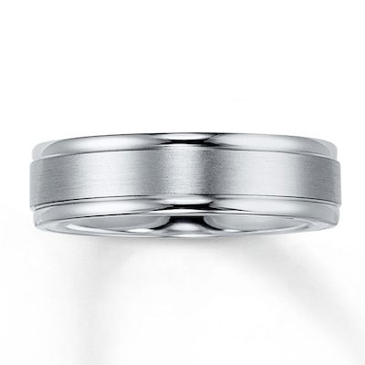 Wedding Band Platinum 6mm