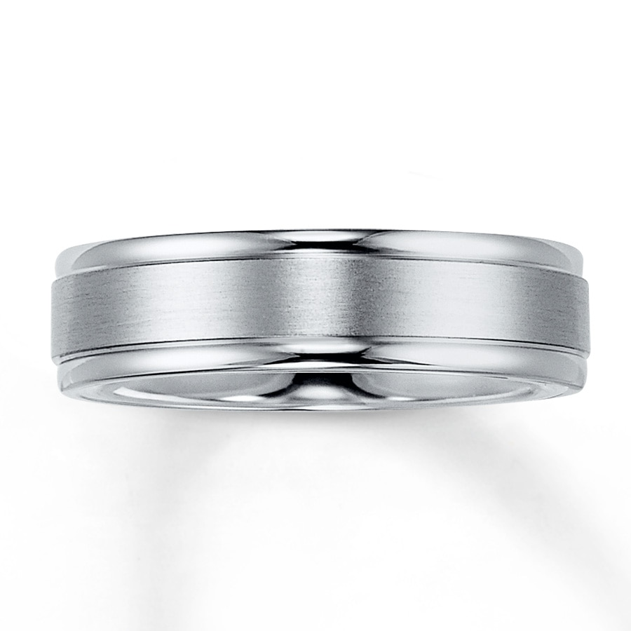 band p plated gold mm bands sterling wedding amp silver over inlay white rose in ring brushed platinum