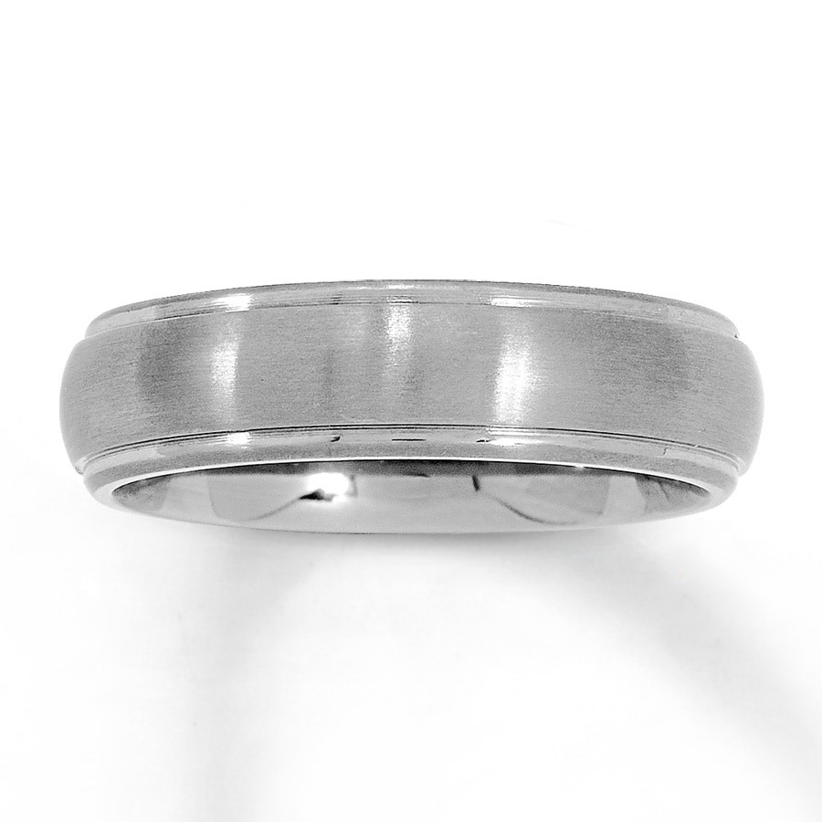 mens wedding band titanium mens titanium wedding band Men s Wedding Band Titanium 6mm