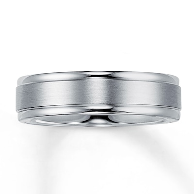 Wedding Band Palladium 6mm
