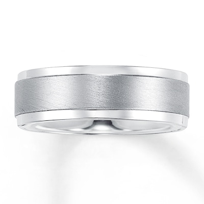 Wedding Band Palladium 7mm
