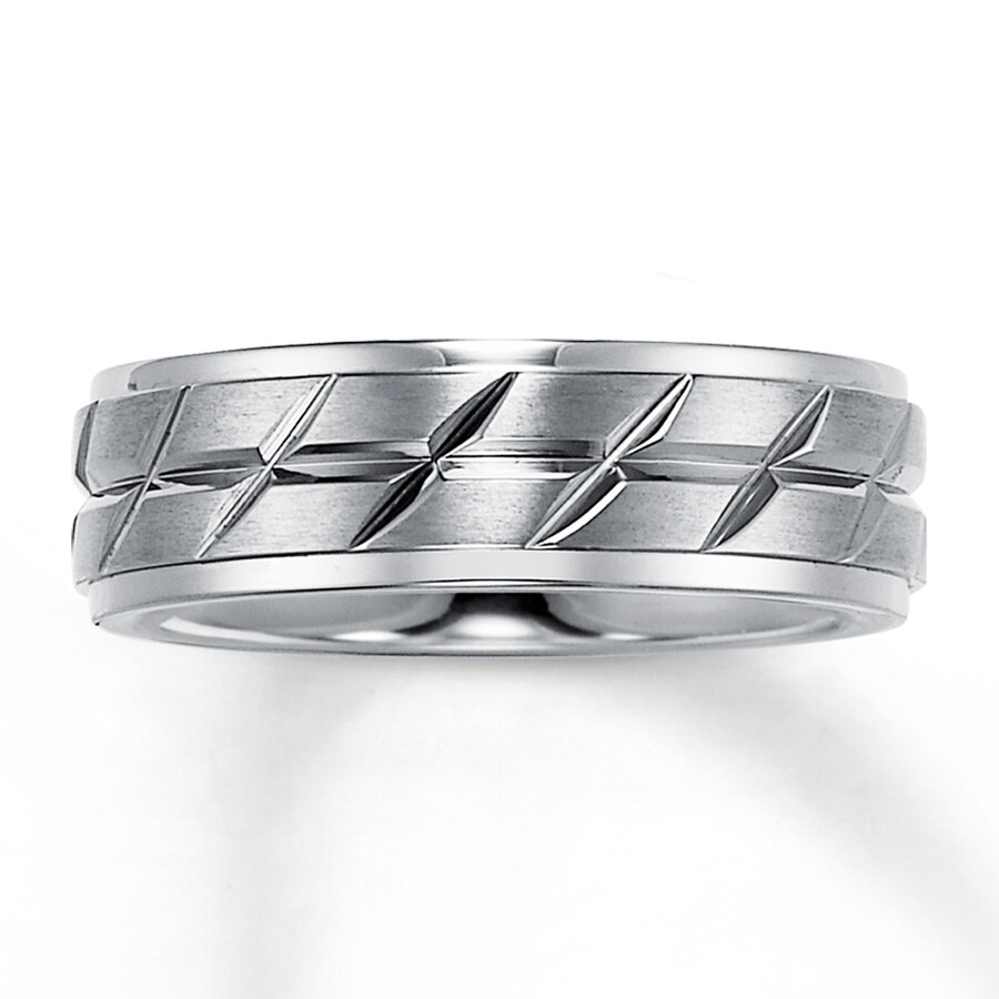 s wedding band titanium 7mm