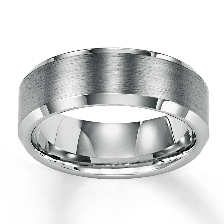 mens wedding band tungsten carbide 1 gold tungsten wedding bands Hover to zoom