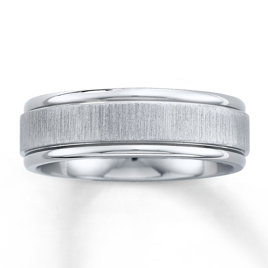 mens wedding band titanium 1 men wedding rings Hover to zoom