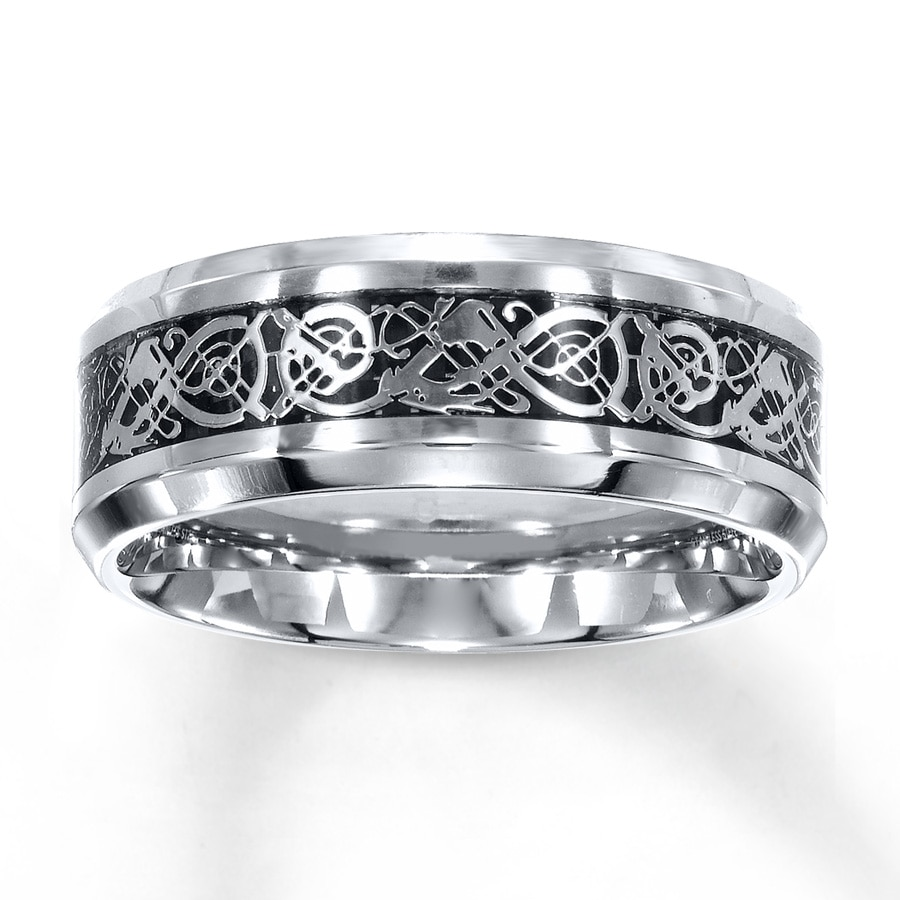 kay - wedding band stainless steel 8mm